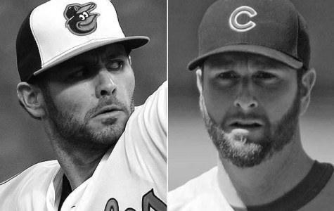 O's pitcher switches sides