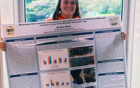 Capstone students present research projects