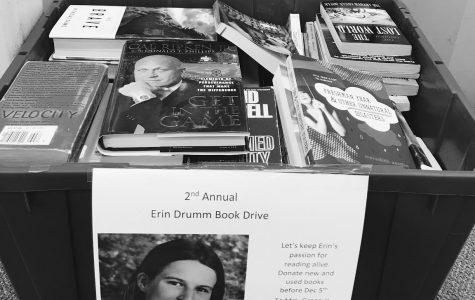 Erin Drumm's legacy lives on;  Second annual book drive begins