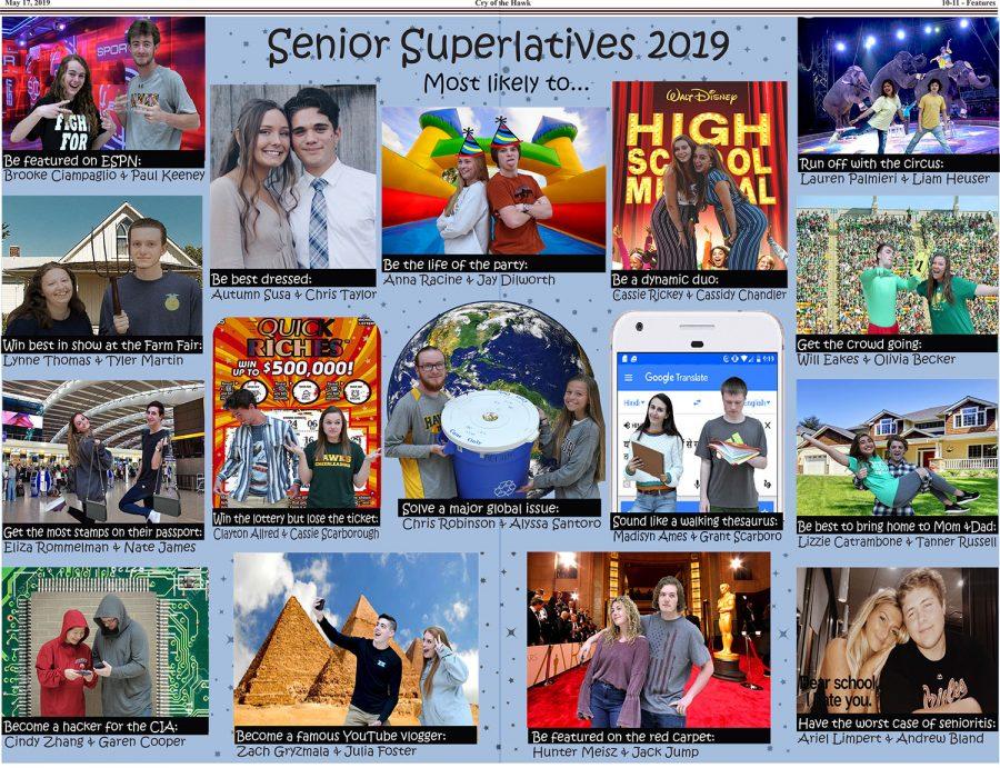 Senior Superlatives 2019