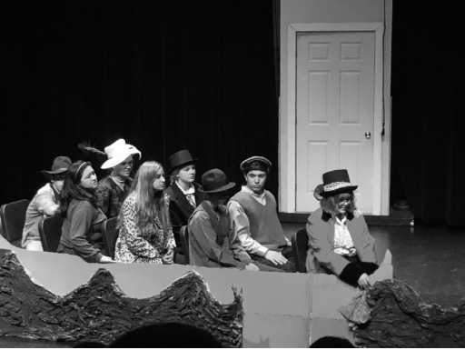 Wacky Wonka's story has new twist; Drama students perform Charlie and the Chocolate Factory