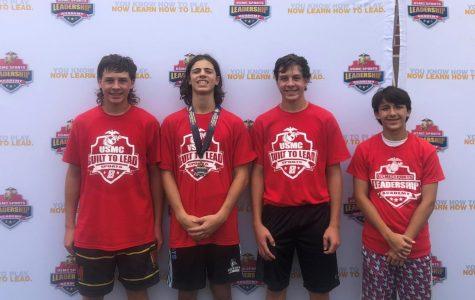 Marines teach high school athletes leadership qualities; Lacrosse preseason training prepares students for tryouts