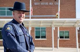 Deputy Blottenberger intends to continue his work in the Harford County Sheriff's Office. He wished to give back to the community during his time in the SRO position. PHOTO CREDIT: Harford County Sheriff's Office
