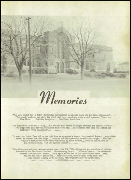 NHHS Yearbook, 1959