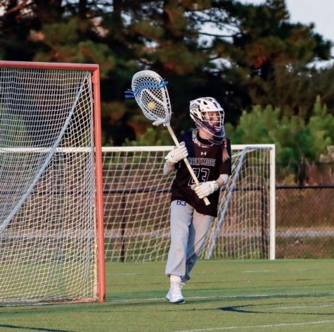 Alyssa Edwards playing as a goalie from the All-American Under Armor tournament.