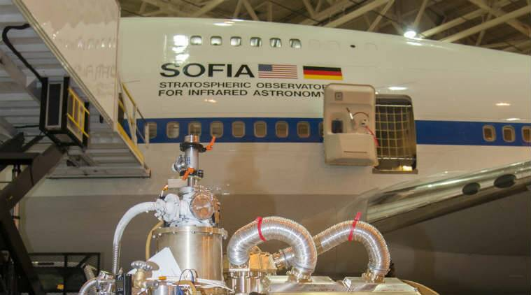 Nasa%27s+SOFIA+is+a+Boeing+747SP+Jetliner+designed+to+hold+a+100-inch+diameter+telescope.+The+Modified+jetliner+has+been+in+service+since+2010.