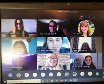FFA meets virtually on the last Friday of the month. They discussed club business.