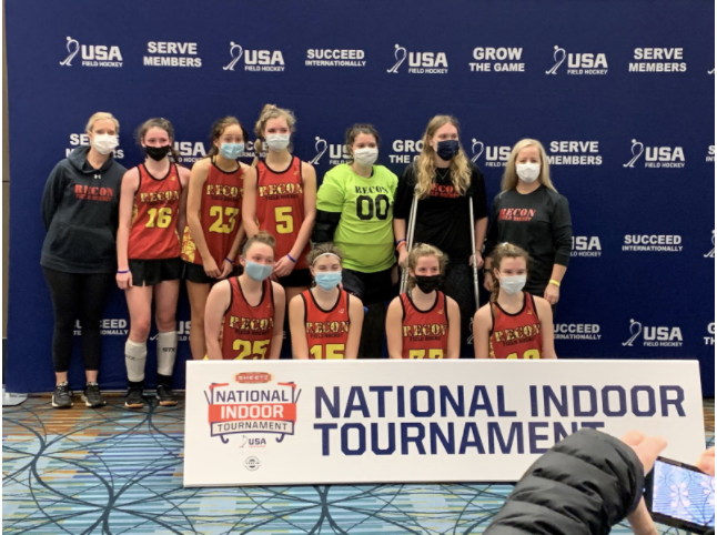 National indoor field hockey tournament, how 2021 matched up to previous competitions