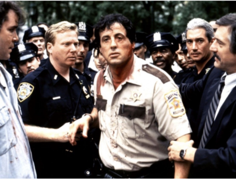 James Mangolds 1997 movie Cop Land is worth watching. The main character Frankie was played by Sylvester Stallone.