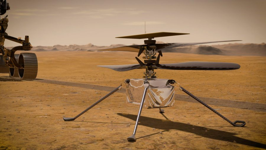 The copter is NASA's latest ground breaking accomplishment. Ingenuity is a step in the direction, to broaden the horizon for space travel in the future.