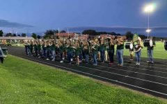 Students prepare for homecoming halftime show; 21-22 school year opening in confidence