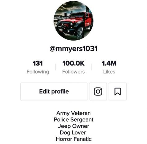 The masked mans tik tok at just 100k followers. mmyers1031 would hit this milestone on Oct. 9